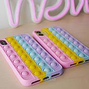 Силіконовий чохол POP IT для iPhone 6+ Plus / 7+ Plus / 8+ Plus