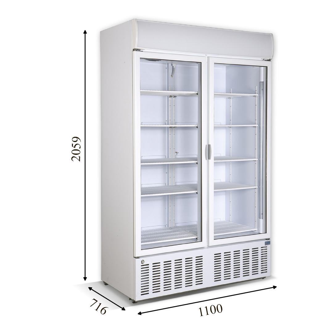Холодильный шкаф CR-1000 CRYSTAL S.A. (Греция)