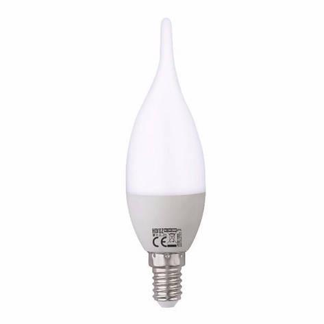 Лампа светодиодная C37 6W 3000K E14 Horoz Electric 001-004-0006-021, фото 2