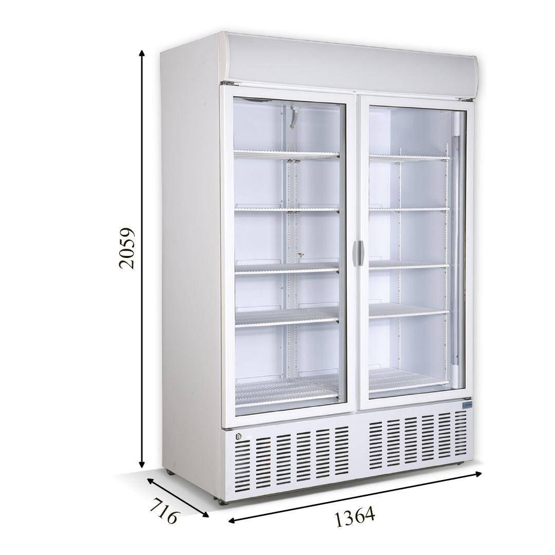 Холодильный шкаф CR-1300 CRYSTAL S.A. (Греция)