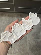 """ЕКСКЛЮЗИВ! Авторський Силіконовий Молд для шоколаду, карамелі і мастики """"Новорічне асорті"""""""