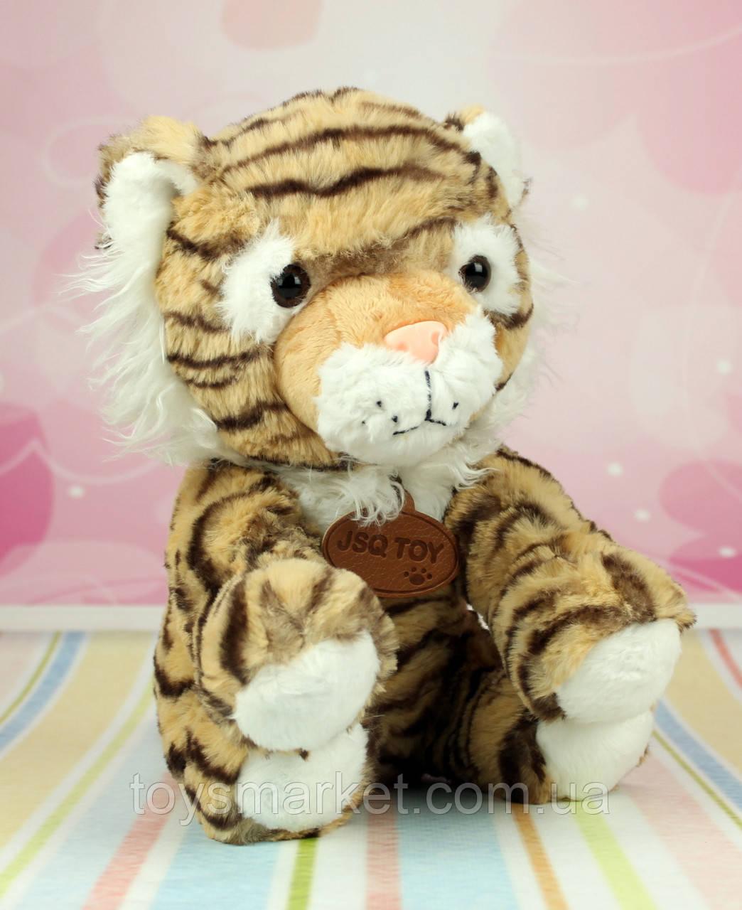Мягкая игрушка Тигр, плюшевый тигр, игрушка тигренок, 30 см.