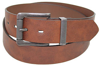 Мужской ремень под джинсы из эко кожи C&A, Германия 2101214 коричневый