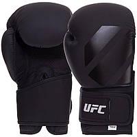 Перчатки боксерские UFC Tonal UTO-75428 14 унций черный