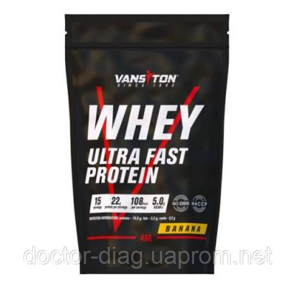 Ванситон Протеин Ванситон Ультра Про, 450 г (банан)
