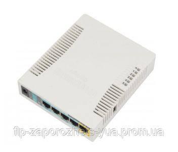 RB951Ui-2HnD 2.4GHz Wi-Fi маршрутизатор з 5-портами Ethernet для домашнього використання