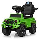 Детская машина толокар джип BAMBI M 4128L-5 зеленый, фото 4