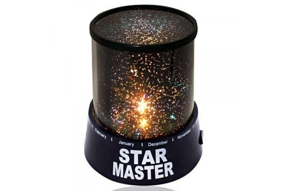 Детский ночник звездного неба Star Master Original Черный (RI0275)