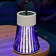 Лампа від комарів mosquito killer lamp BG-002 Зелена, електрична пастка для комарів (лампа от комаров), фото 2