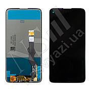 Дисплей MOTOROLA G8 Power (XT2041) (2020) з чорним тачскріном