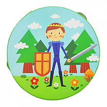 Дерев'яна іграшка Бубон MD 0367 15 см (Принц)
