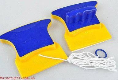 [ОПТ] Магнітна щітка для миття вікон