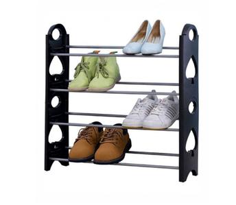 ОПТ ОПТ Полиця для взуття органайзер Amazing Stackable Shoe Rack 4 полки, на 12 пар