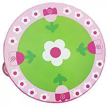 Дерев'яна іграшка Бубон MD 0367 15 см (Квіточки на рожевій полянці)