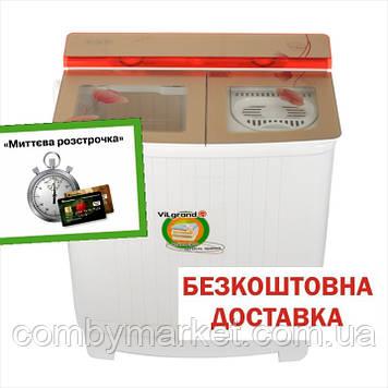 Пральна машина 7.0 кг скляна кришка, з центрифугою, помпа ViLgrand V704-54_(5073)_маки