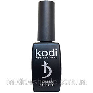 Каучукове базове покриття (основа, база) для нігтів Kodi Rubber Base, 12 мл., фото 2