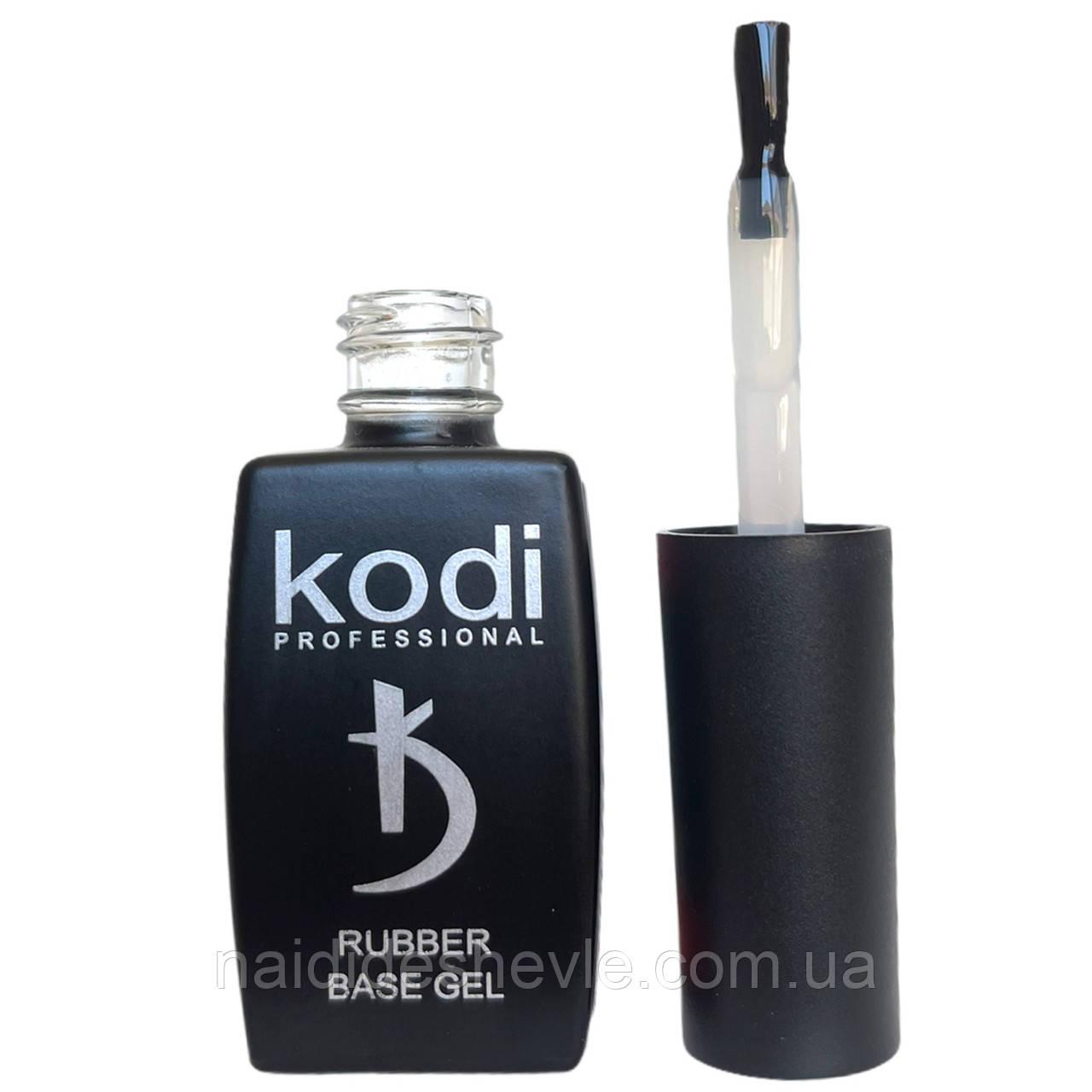 Каучукове базове покриття (основа, база) для нігтів Kodi Rubber Base, 12 мл.