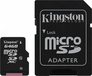 Карта памяти Kingston 64 GB microSDXC class 10!!!
