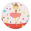 Деревянная игрушка Бубен MD 0367  15 см  (Балерина)