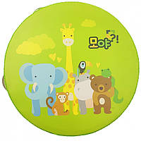 Дерев'яна іграшка Бубон MD 0367 15 см (Дикі Тварини)