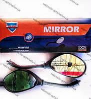 Зеркало овал для скутера М8 Dio 50 резиновый пыльник JWBP