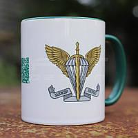 Чашка керамічна ДШВ, фото 1