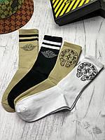 Носки CHROME HEARTS+DI*R набор носков в фирменной упаковке премиум качество копия реплика, фото 1