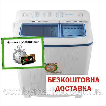 Пральна машина 7.0 кг з центрифугою, помпа ViLgrand V709-53E_blue_(5072)