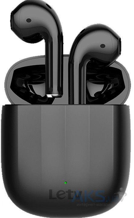 Наушники Bluetooth TWS Letv L18 black с беспроводной зарядкой
