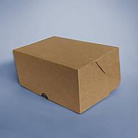 Коробка крафтова для їжі на виніс 170*120*80