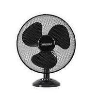 Настільний вентилятор Mesko MS 7308 23 см Black портативний з автоповоротом