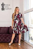 Ошатне Жіноче плаття великі розміри 46-58, фото 1