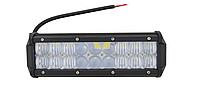 Світлодіодна автофара балка LED на дах (18 LED) 5D-54W-MIX, Світлодіодна освітлювальна фара на 18 лампочок, фото 1