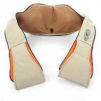 Универсальный роликовый массажер для спины и шеи Massager of Neck Kneading с ИК-прогревом (V3241), фото 1