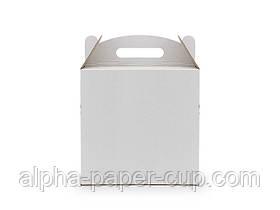 Коробка для торта сборная микрогофрокартон, 300*300*300 мм