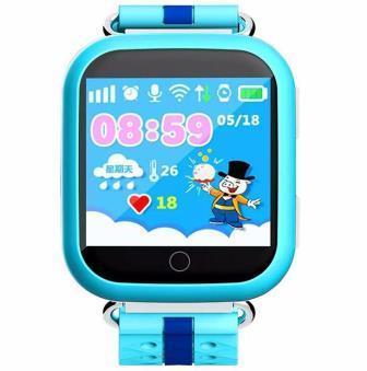 Дитячі наручні годинники Smart Q100 з GPS відстеженням дитини, Розумні годинник-телефон для дітей з трекером