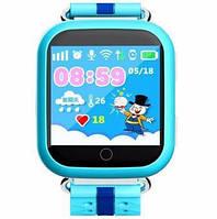Дитячі наручні годинники Smart Q100 з GPS відстеженням дитини, Розумні годинник-телефон для дітей з трекером, фото 1