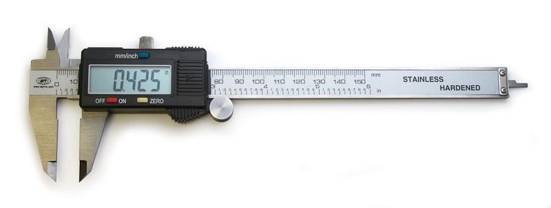 Цифровой электронный штангенциркуль Digital Caliper 0-150 мм, метал, (1343)