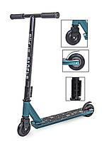 Самокат дитячий трюковий Scale Sports Turbo двоколісний від 7 років Original