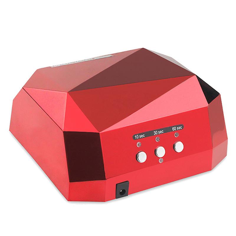 🔥 Професійна лампа для сушіння гель-лаків Beauty nail CCF + LED з таймером