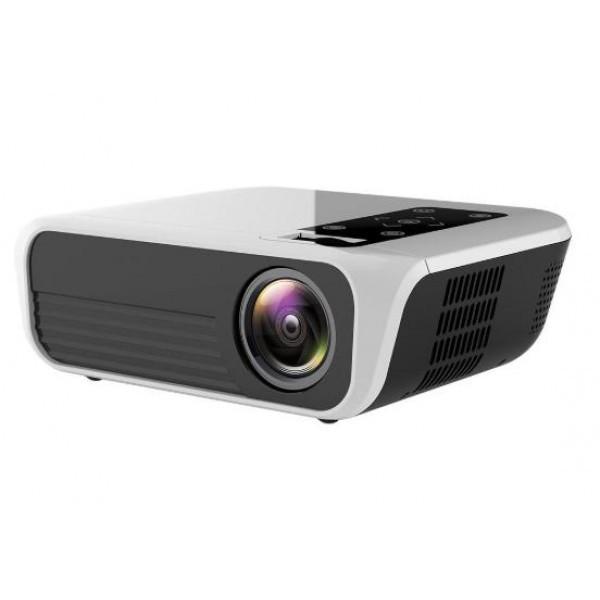 Мультимедийный портативный проектор с динамиком для домашнего кинотеатра TouYinger L7 T8 (Android version)