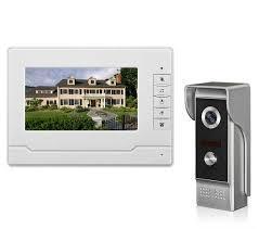 Видеодомофон с монитором  V70NM с громкой связью и режимом ночного видения (MD-11831)