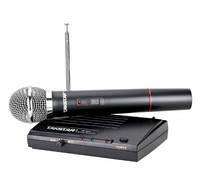 Бездротова радіосистема з ручним динамічним мікрофоном TS-331, радіо мікрофон для вокалістів, караоке, фото 1