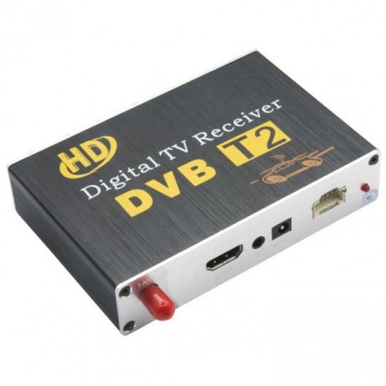 Автомобильный ресивер для автомобиля T2 Digital TV Receiver, черный (MD-11554)