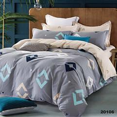 Комплект постельного белья ранфорс Viluta евро 20106
