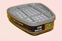 Фильтр угольный к респиратору 3M  от органических паров  6001