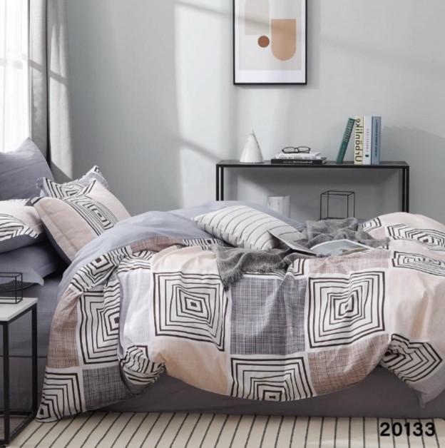 Комплект постельного белья Viluta ранфорс евро 20133