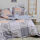Комплект постельного белья Viluta ранфорс евро 20133, фото 2