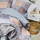 Комплект постельного белья Viluta ранфорс евро 20133, фото 3