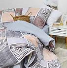 Комплект постельного белья Viluta ранфорс евро 20133, фото 4